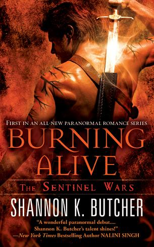 BURNING ALIVE cover